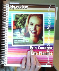 My Review - Erin Condren Life Planner
