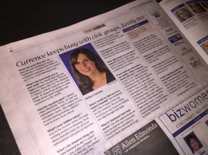 Melissa Currence in Cincinnati Business Courier